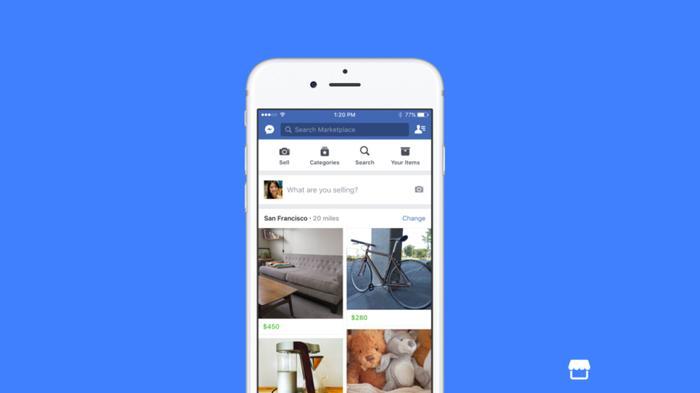 Facebook Marketplace.