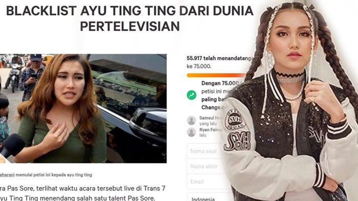 POPULER Fakta Petisi Blacklist Ayu Ting Ting dari TV, Fans yang Tak Terima Gercep Bikin Tandingan