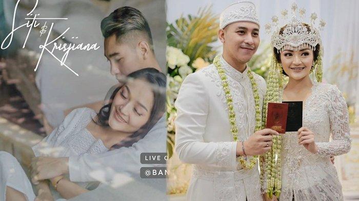 5 Fakta Pernikahan Siti Badriah & Krisjiana Baharudin, Mulai Akad, Resepsi, Undangan hingga Mahar
