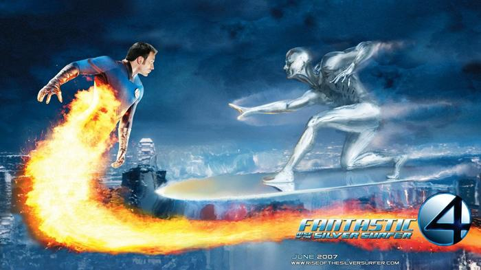 Poster Film Fantastic Four: Rise of the Silver Surfer.