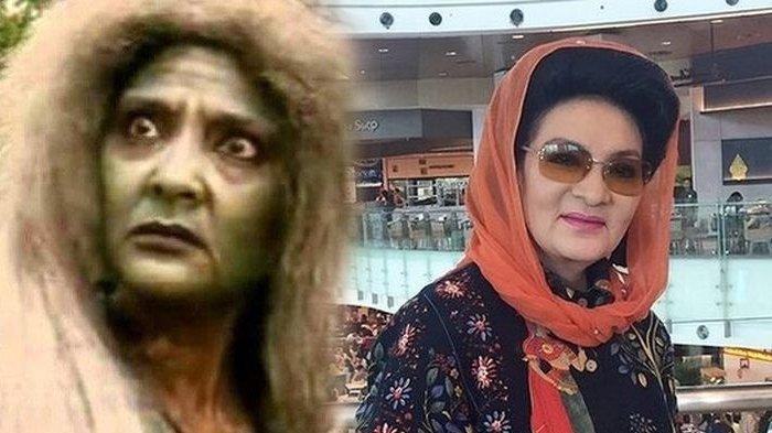 Farida Pasha pemeran Mak Lampir meninggal dunia karena Covid-19.