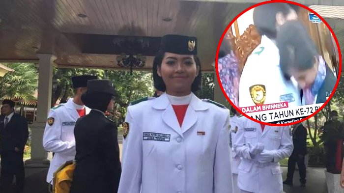 Buat Presenter CNN Indonesia Menangis, Begini Kisah Fariza Putri Salsabila, Paskibraka 2017