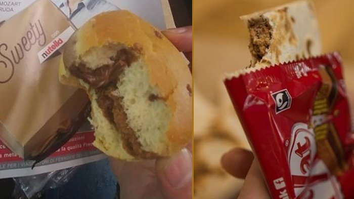 McDonald's Nutella Burger dan Taco Bell Kit Kat Chocodilla.