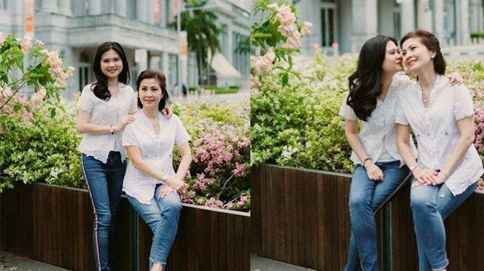 Momen Hari Kartini, Meilia Lau Foto bersama Felicia Tissue, Tulis: Habis Gelap Terbitlah Terang