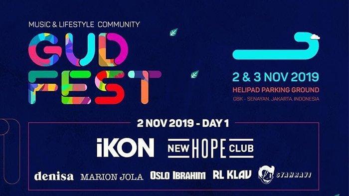 Digelar Hari Ini, Inilah Line Up Festival GUDFEST 2019 di GBK, dari iKON hingga Marion Jola