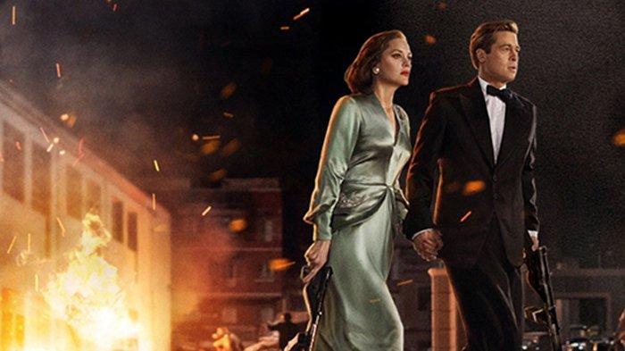 Film Allied, dibintangi Brad Pitt dan Marion Cotillard.