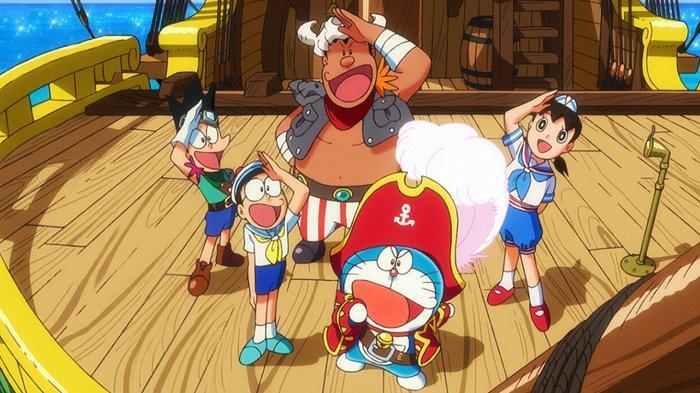 Film Doraemon: Nobita's Treasure Island.