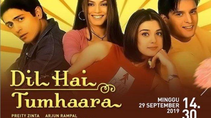 Sinopsis Film 'Dil Hai Tumhaara', Dibintangi Preity Zinta, Tayang di ANTV, Minggu Pukul 14:30 WIB