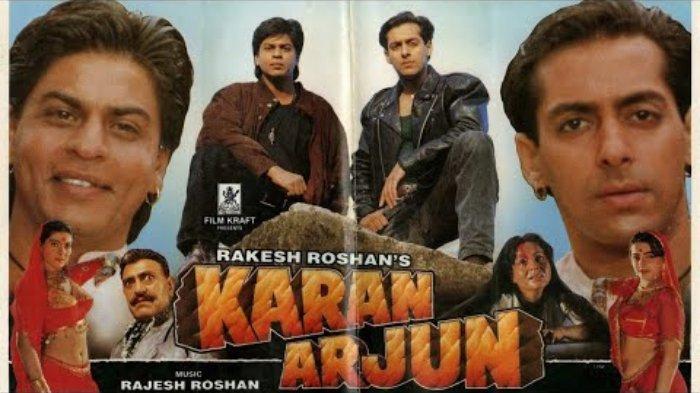 Sinopsis Film 'Karan Arjun', Dibintangi Shah Rukh Khan, Tayang ANTV, Sabtu Pukul 14.30 WIB