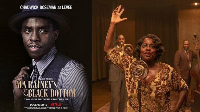 Film Ma Rainey's Black Bottom, film terakhir Chadwick Boseman rilis di Netflix 18 Desember 2020.