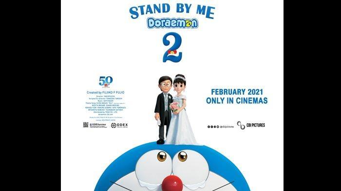 Film Stand by Me Doraemon 2 Bakal Tayang di Indonesia Februari 2021, Nobita Menikah dengan Shizuka