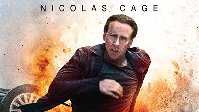 Film Stolen dibintangi Nicholas Cage.
