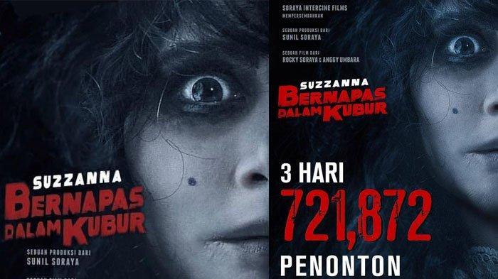 Film Suzzanna: Bernapas Dalam Kubur Raih 700 Ribu Penonton, Simak 5 Fakta Menarik dari Film Ini