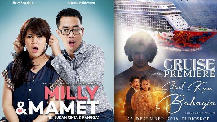Daftar Film Indonesia yang Tayang di Bioskop Desember 2018, Mulai dari Horor Hingga Komedi Ada!