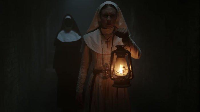 Penampakan Valak yang Menyeramkan dalam Film The Nun, Bonnie Aarons Kembali Beraksi!