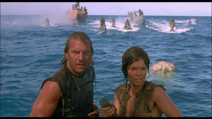 Film Waterworld yang dirilis tahun 1996