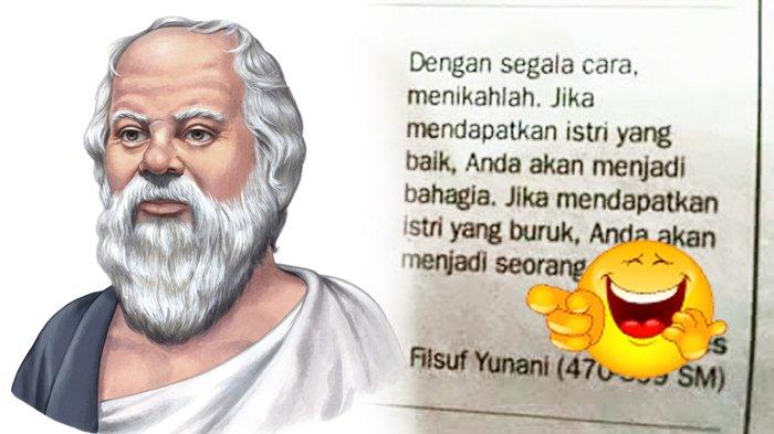 Quote Filsuf Yunani Soal Menikah Ini Bikin Gagal Fokus Begin