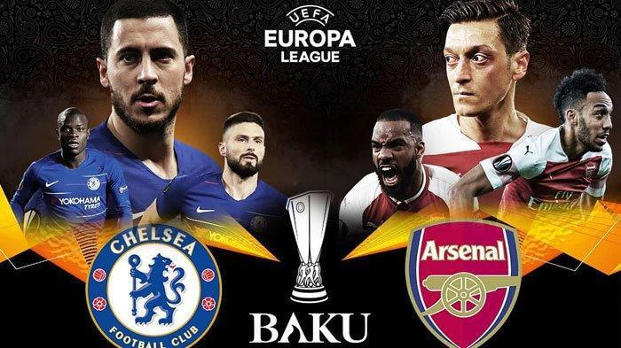 Jadwal dan Prediksi Arsenal vs Chelsea Final Liga Eropa Kamis Jam 02.00 WIB Adaptasi Bagus Emery