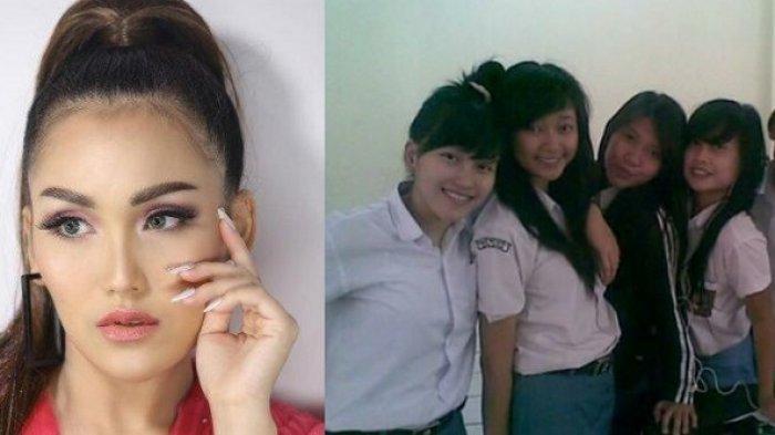 Penampilan Asli Ayu Ting Ting Masa SMA Jadi Sorotan, Intip Foto-fotonya Bareng Geng Sekolah