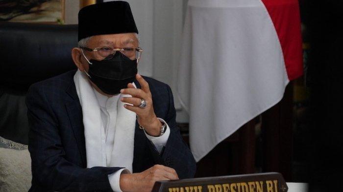 Wakil Presiden Indonesia Maruf Amin.