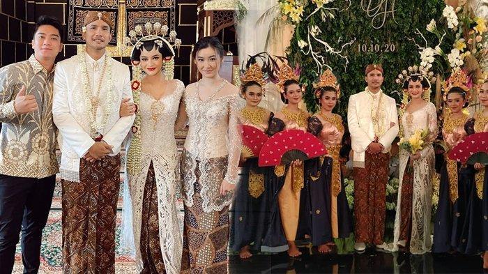 Lepas Status Lajang, Intip Foto-foto Pernikahan Presenter Ovi Dian dan Helmi Rahman di Blitar
