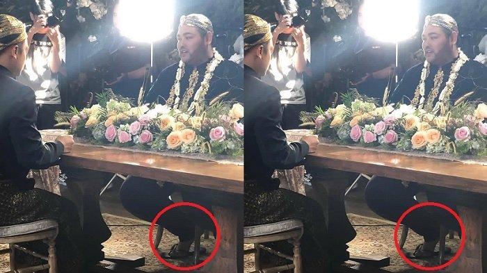 Sahabat Artis Ucap Selamat Nikah ke Ivan Gunawan, Fotonya Buat Heran, 'Nikah Kok Pakai Sandal Jepit'