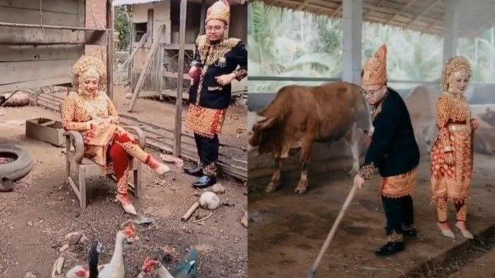 VIRAL Prewedding Unik, Calon Pengantin Pilih Foto di Kandang Sapi & Bebek: Pengalaman Sangat Ekstrem