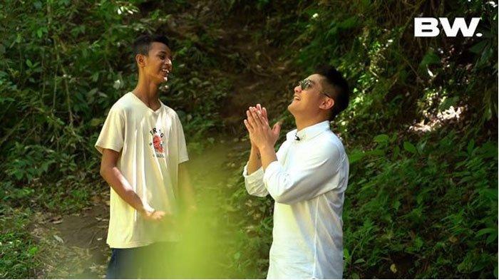 Frendi Bawotong seleb TikTok dengan Boy William.