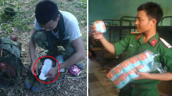 Tak Disangka! Sebuah Barang Pribadi Wanita Ini Bisa Dijadikan Alas Kaki Oleh Tentara Vietnam