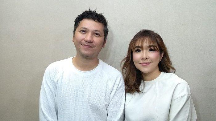 Gading Marten dan Gisella Anastasia di Hotel Veranda, Pakubuwono, Jakarata Selatan, Rabu (28/11/2018).