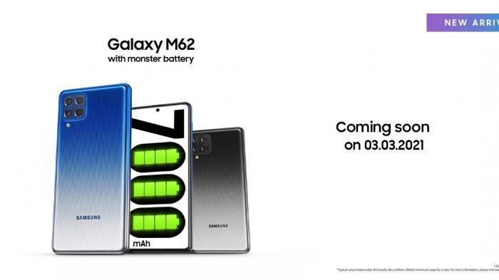 Diluncurkan 3 Maret 2021 Mendatang, Galaxy M62 Sudah Muncul di Situs Resmi Samsung Thailand