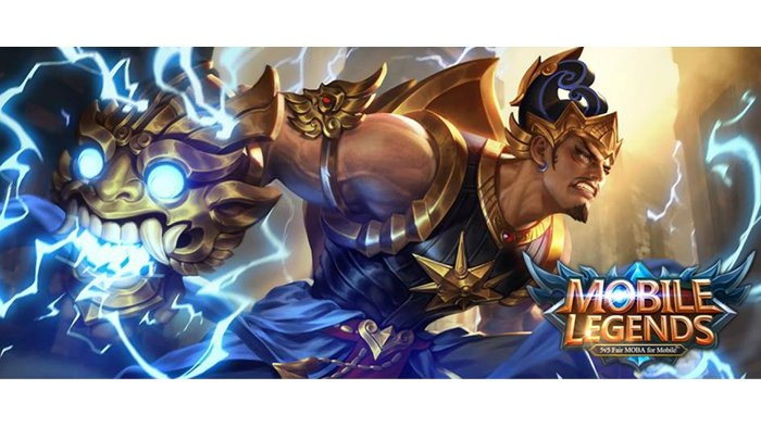 Gatot Kaca dalam Mobile Legends.