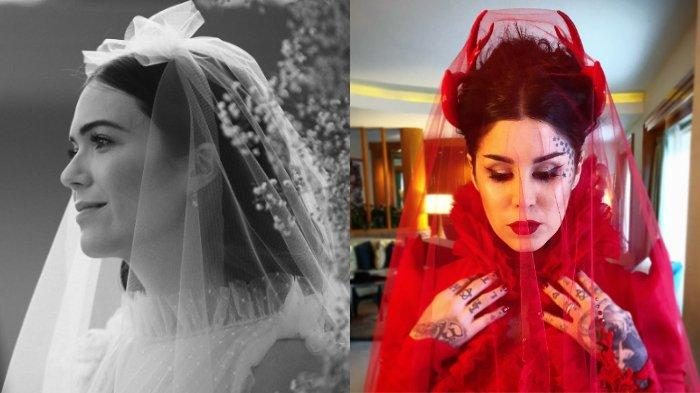 6 Gaun Pernikahan Artis Luar Negeri Anti Mainstream: Mandy Moore, Lydia Hearst, hingga Kristen Bell