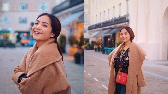 Jalan-jalan di London, Penampilan Nagita Slavina Curi Perhatian, Harga Outfitnya Capai Rp 300 Juta