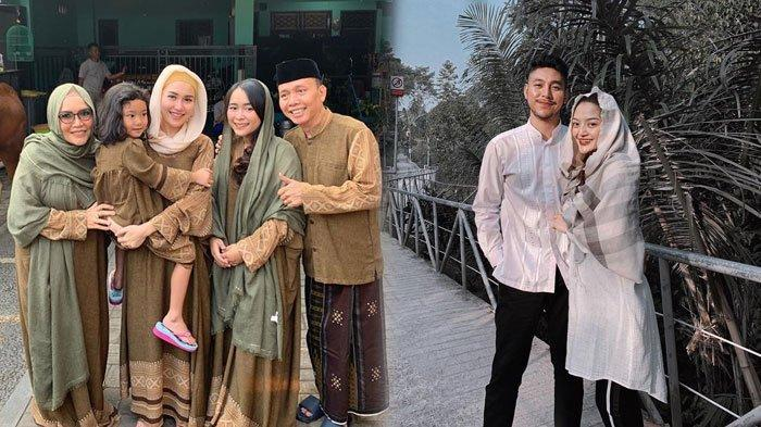 Momen Idul Adha 2019, Deretan Selebriti Rayakan Bareng Keluarga, Intip Fashion Mereka yang Kompakan