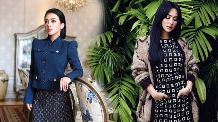 5 Gaya Syahrini Sesi Pemotretan Majalah, Tampil dengan Busana Branded Louis Vuitton hingga Gucci