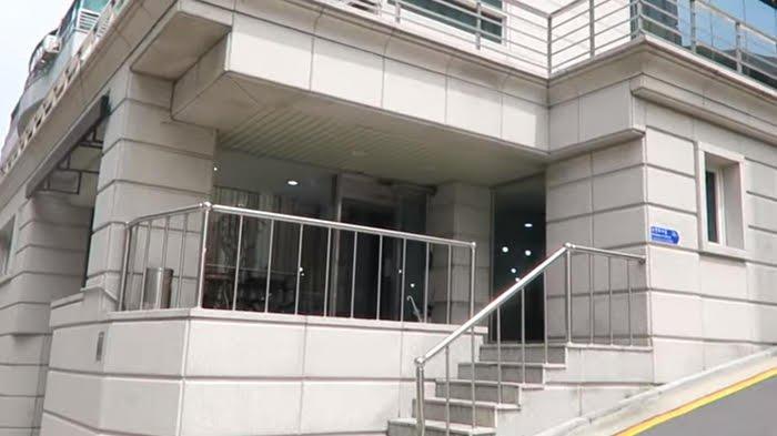 Gedung Big Hit Entertainment tampak depan