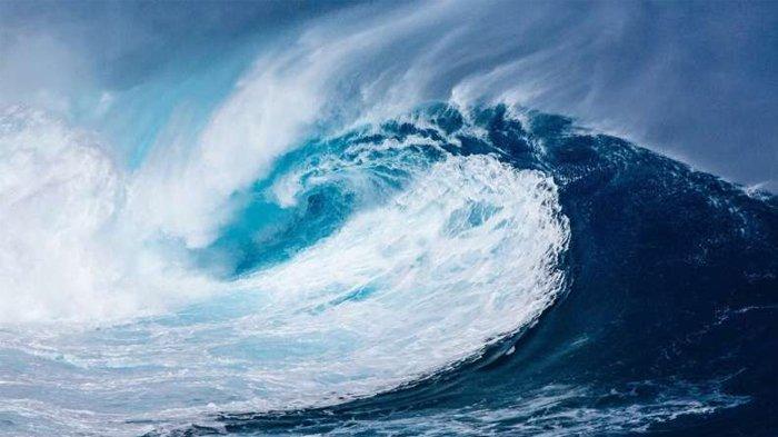 Ilustrasi gelombang tinggi