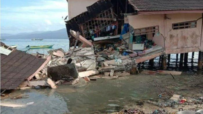 UPDATE Terbaru Korban Meninggal dan Kerusakan Akibat Gempa Ambon 6,8 SR Versi BPBD Provinsi Maluku
