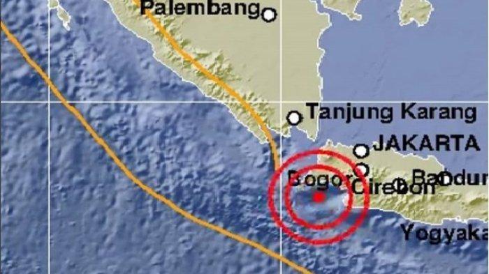 Gempa Hari Ini Jumat 7 Desember 2018 Pagi Guncang Lebak Banten 5 SR, BMKG: Tak Berpotensi Tsunami