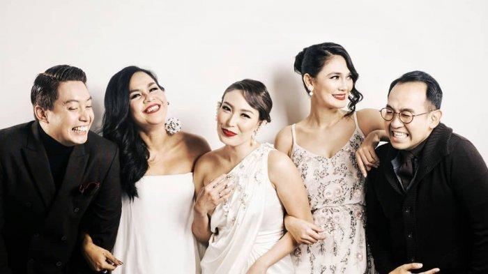 Edric Tjandra, Melaney Ricardo, Ayu Dewi, Luna Maya dan Iwet Ramadhan.