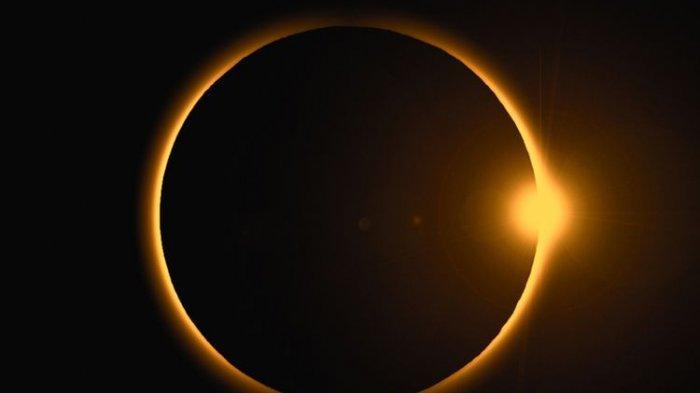 JANGAN LEWATKAN! Live Streaming Gerhana Matahari Cincin, Mulai Pukul 3 Sore, Hanya 3 Menit 51 Detik