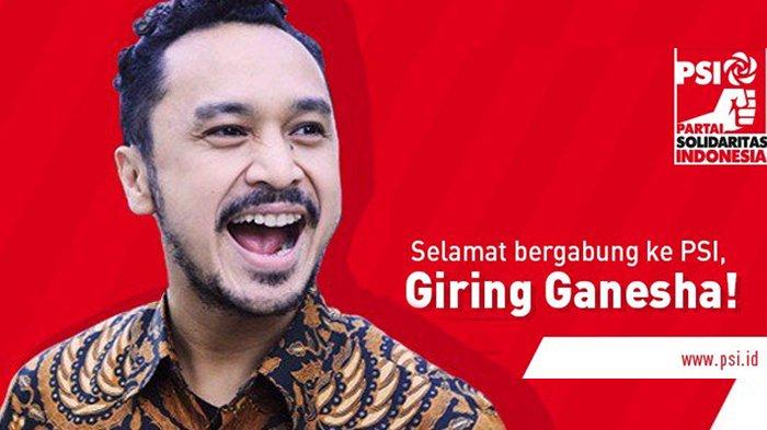 Siap Terjun ke Dunia Politik, Ini Alasan Giring Nidji Melangkah Bersama Partai Solidaritas Indonesia