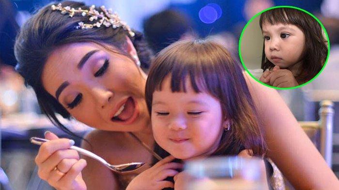 Gempita Nora Marten - Berpose dengan Ekspresi Super Serius, Putri Gading Gisel Nonton Drama Korea?