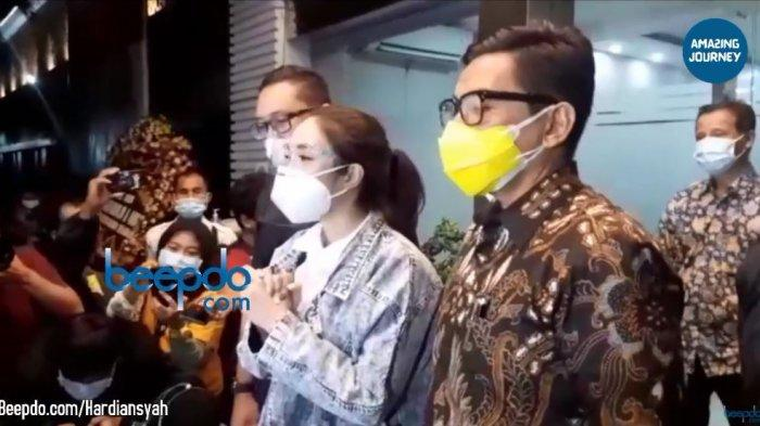 Gisella Anastasia sampaikan permintaan maaf setelah menjalani pemeriksaan di Polda Metro Jaya, Jumat (8/1/2021).