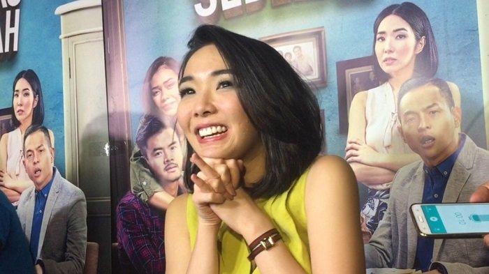 Gisella Anastasia ditemui di kawasan Sarinah, Jakarta Pusat, Senin (16/1/2017).