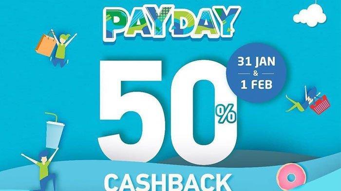 Syarat, Ketentuan GO PAY PAYDAY & Daftar Outlet dari Chatime hingga Burger King, Dapat Cashback 50%