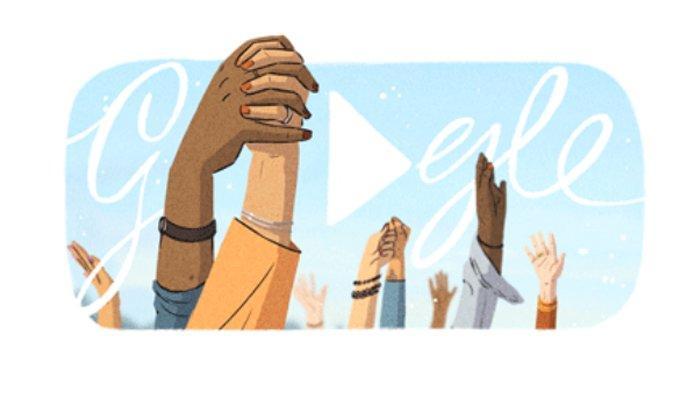 Hari Perempuan Sedunia Mewarnai Google Doodle, Diperingati Setiap 8 Maret, Simak Sejarah IWD