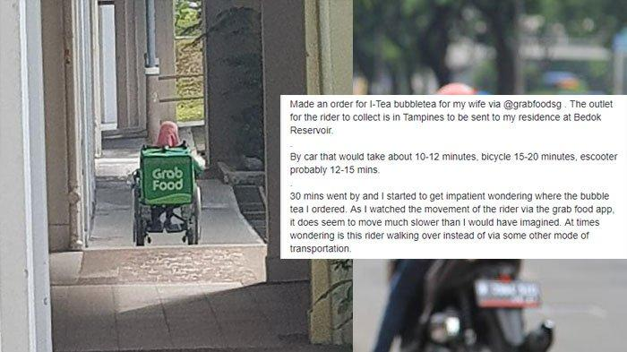 Wanita Ini Viral Setelah Antarkan Makanan GrabFood, Pelanggannya Sangat Terkejut saat Bertemu