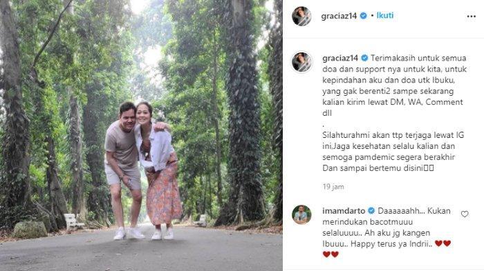 Gracia Indri pamitan untuk pindah ke Belanda